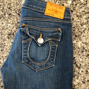 True religion Carrie flare size 28